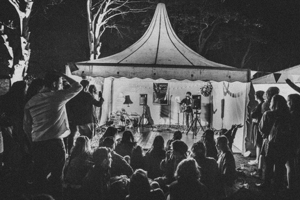 music is love tent at under canvas 2015