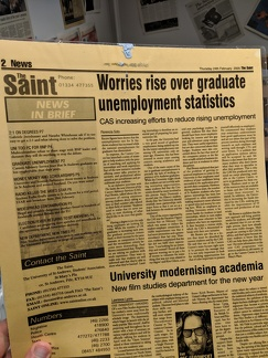 the saint february 2005 mentions star trial