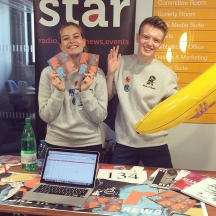 star freshers fayre table september 2017